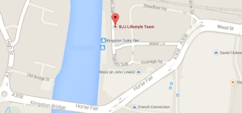 BJJ LIfestyle Team Location Map