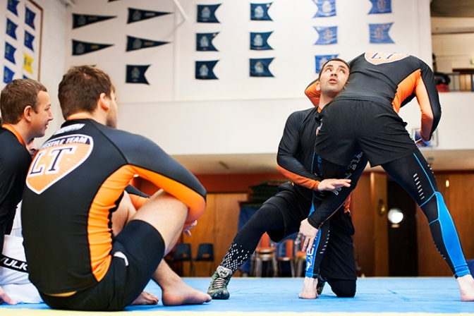 Benefit From Exceptional No-Gi Takedown Coaching