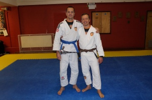 Jim Lavender - BJJ Lifestyle Team's fourth blue belt.