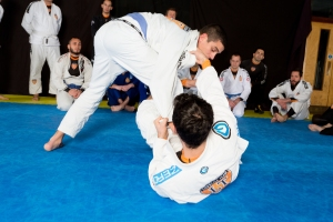Two of Lifestyle Team's best blue belts - both have trained consistently for over three years.