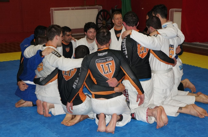 Team Spirit At BJJ Lifestyle Team Kingston