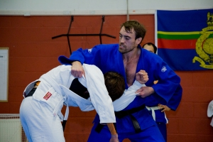 Hitting a takedown in the Gi..