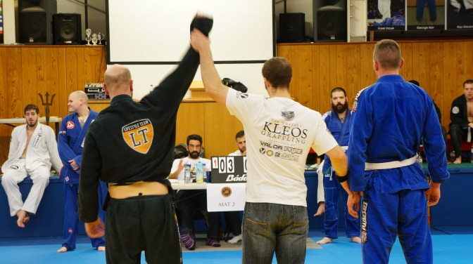 Strong Performance At Kleos Brazilian Jiu-Jitsu Competition
