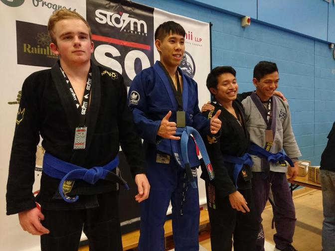 Gold for Michael Cheung at the Surrey Open