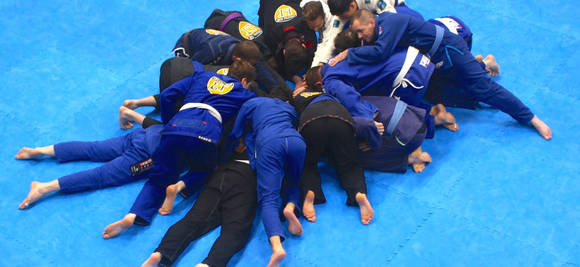 Numbers Lifting at Beginner BJJ Lessons