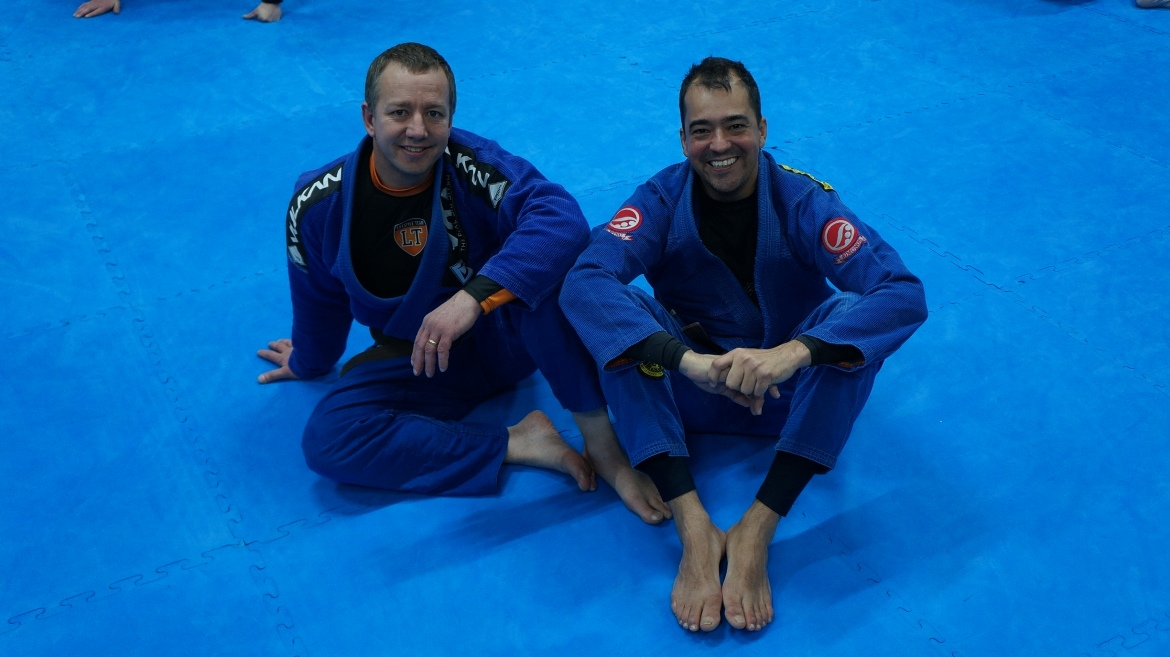 Strong Team Spirit at BJJ Lifestyle Team in Kingston